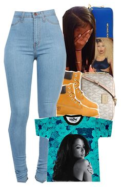 """""""Doin' Just Fine x Boyz II Men."""" by trillestqueen ❤ liked on Polyvore featuring MICHAEL Michael Kors, Michael Kors and Timberland"""