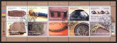 Stamp: Symbols of South Africa Culture (South Africa) (Symbols of South Africa…