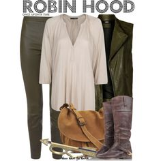 Inspired by Sean Mcguire as Robin Hood on Once Upon a Time. // My style when casual Disney Bound Outfits, Disney Inspired Outfits, Themed Outfits, Disney Style, Casual Cosplay, Cosplay Outfits, Fandom Fashion, Nerd Fashion, Punk Fashion