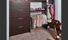 Put clothes within children's reach Closet Design | Tailored Living