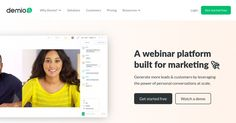Demio Discount Coupon Deals and Codes Email Marketing, Affiliate Marketing, Internet Marketing, Digital Marketing, Coupon Deals, Coupon Codes, Get Started, Make Money Online, Coupons