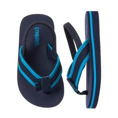 Accessories Gym Navy Island Flip Flops by Gymboree. Manmade materials, Easy slip-on style, Lined strap for comfort, Elastic back strap, Spot clean; Imported and Collection Name: Swim Shop Toddler Boy Shoes, Baby Boy Shoes, Boys Shoes, Baby Boy Outfits, Toddler Boys, Baby Kids, Baby Jordan Shoes, Baby Jordans, Gymboree