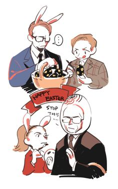 Happy Easter by @Rood_
