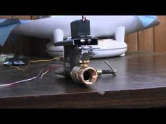 Wood Gas Fuel/Air Mixer Controlled By An Arduino Uno - YouTube