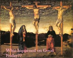 Crucifixion by Andrea del Castagno (National Gallery, London) National Gallery Of Art, Reine Esther, Galerie Des Offices, La Passion Du Christ, Good Friday Images, Holy Friday, Baptism Of Christ, Jesus Christ, Savior