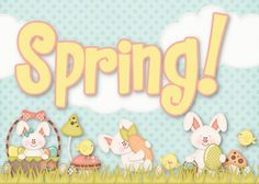 FREE printable spring sign
