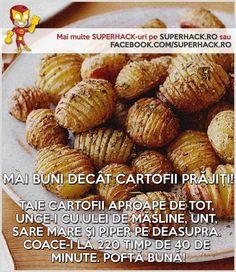 O alternativă mai sănatoasă a cartofilor prajiţi! - SuperHack.ro