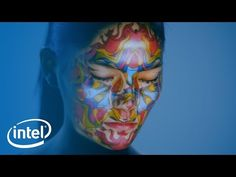 Facial Projection Mapping | Experience Amazing | Intel - YouTube