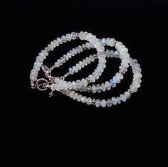 Moonstone Bracelet by angelovajewelry on Etsy