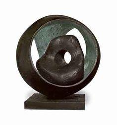 BARBARA HEPWORTH (1903-1975) SPHERE WITH INNER FORM