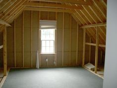 Finishing Attic Space Ideas | Room, Converted attic space above garage into kids media / game room ...