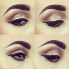 Today's look using full exposure for my eyes & ruby liner & mandarin on my lips  #smashbox