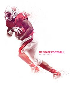NC State Football Graphic on Behance