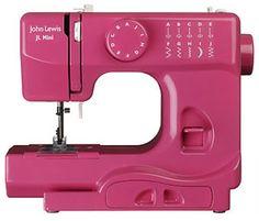 ooohhhhh....een roze naaimachine!! Misschien ook wel in het blauw?