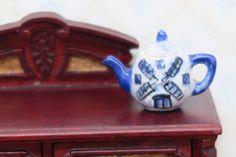 B1 Échelle 1:12 4 céramique bols maison de poupées miniature