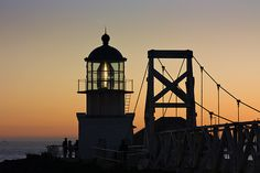 The bridge and Lighthouse