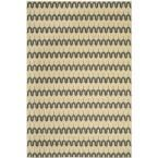Hampton Light Blue/Green 6 ft. 7 in. x 9 ft. 6 in. Indoor/Outdoor Area Rug