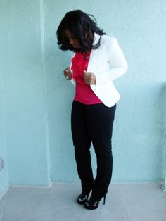 Curves and Confidence | Inspiring Curvy Women One Outfit At A Time: Blazing Hot