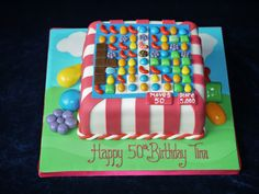 Candy Crush Cake for the older kid.