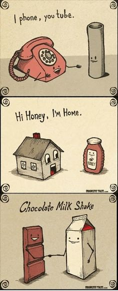 I #phone you #tube   Hi #honey I'm #home   #chocolate #milkshake   #LetsGetWordy