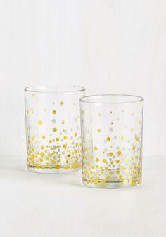 Law of Beverages Glass Set | Mod Retro Vintage Kitchen | ModCloth.com