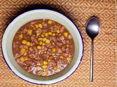 Samp, beans and mealies - a hearty meal