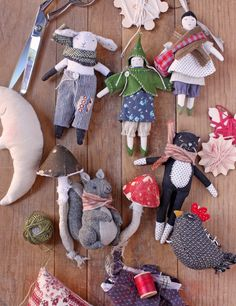100 Brilliant Projects to Upcycle Leftover Fabric Scraps - Untinued Sewing Patterns Free, Free Sewing, Rag Doll Patterns, Ann Wood, Sewing Hacks, Sewing Tips, Sewing Tutorials, Sewing Crafts, Leftover Fabric