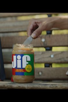 That Jif'ing Good, you'd squeeze this link to try Jif Squeeze.​ Diy Candles Easy, Creamy Peanut Butter, Diy Photo Booth, Photo Booths, On The Go Snacks, Graduation Party Decor, Husband Birthday, Mason Jar Diy, Yummy Cookies