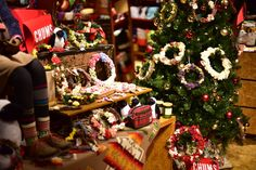 CHACOクリスマスリース