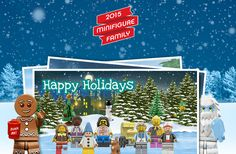 FREE Customized Digital Holiday Card from Lego!