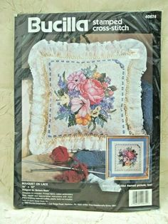 """Tobin Daisies Candlewicking Kit-12/""""X16/"""" Stitched In Thread /& Floss"""