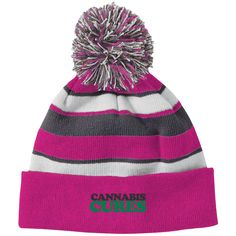 2b37de4c575 Just A Small Town Girl (IL) 223835 Holloway Striped Beanie with Pom
