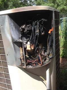 """Homeowner asks """" can you fix it? Safety Fail, Hvac Air Conditioning, Hvac Maintenance, Hvac Installation, Air Diffusers, Home Inspection, Air Compressor, Heating And Cooling, Class Room"""