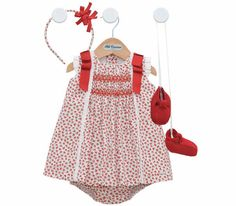 Beautiful baby girl dress set ! This website has some amazing stuff, i'm in love!