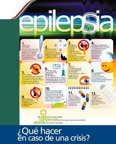 ¿Qué hacer en caso de una crisis de epilepsia?