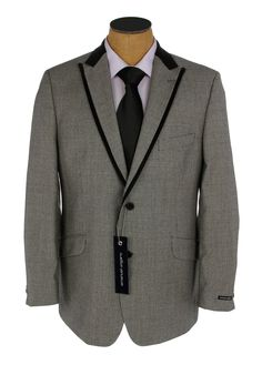 Two tone black and grey mens dress suits | Fashion Suits Mens Suit Measuring Boys Suit Measuring Sign Up For Our ...
