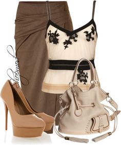 """Premier FLirt Lancel"" by shopmod ❤ liked on Polyvore"