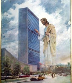 Giant Jesus checking on staff meeting. Hmmm, I hope that's my meeting! Thank You Lord Christ Jesus.Thank You Father ! Images Du Christ, Pictures Of Jesus Christ, Image Jesus, Harry Anderson, Jesus Christus, Prophetic Art, Jesus Art, Biblical Art, Jesus Is Lord