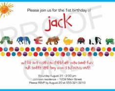 39 best events eric carle party images on pinterest eric carle brown bear eric carle inspired birthday or baby shower party food labels filmwisefo