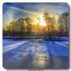 Winter in Örebro
