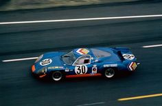ca 24 Heures du Mans 1969-Alpine A 220-69-Société des Automobiles Alpine-Henri Grandsire - Jean-Claude Andruet