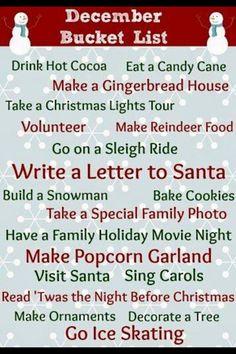 Dec checklist