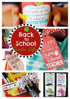 teacher gift ideas & printables