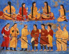 Turkic Languages, Semitic Languages, Chinese Armor, Eurasian Steppe, Golden Horde, Knit Rug, Blue Green Eyes, Indian Language, Buddhist Monk