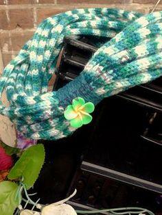 French knitting Scarf www.dianaswereld.nl