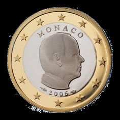 Monaco 1 Euro Coin (Albert II)
