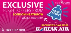 Twitter / travelhouseuk: Save More with Korean Air ...