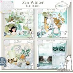 Zen Winter collection by KittyScrap http://digital-crea.fr/shop/index.php?main_page=index&cPath=263_429