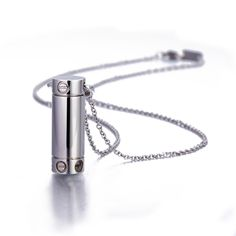 Memory Canister Necklace - Silver