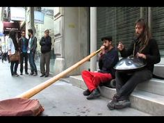 Didgeridoo and Hang Drum this really takes off after about a minute